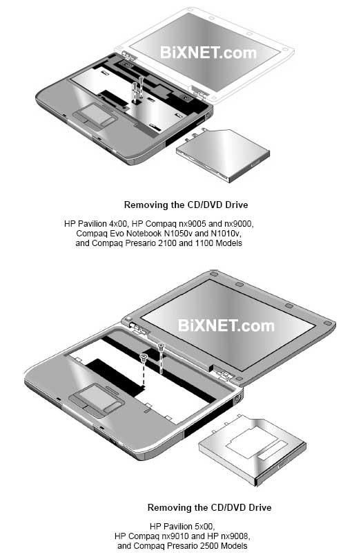 USB 2.0 External CD//DVD Drive for Compaq presario cq61-450st